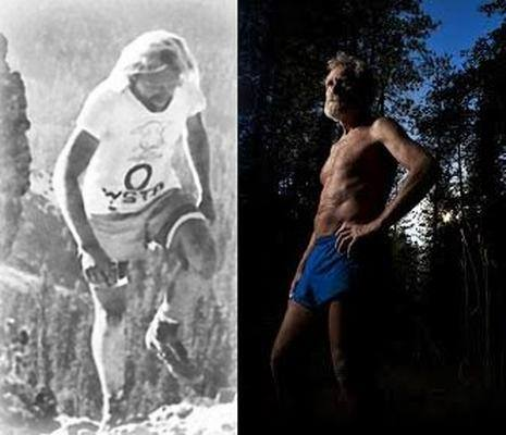 In 1974 and in 2013. Photo c/o Gritfire